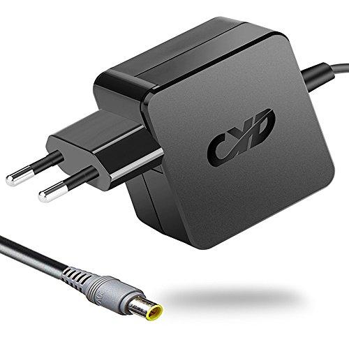 CYD 65W PowerFast Netzteil für Lenovo Thinkpad T400 E520 E530C E545 W500 S400 U300 U310 U330 U410 Essential B560 B570 B575 G450 G480 G580 Q150 0B66260 45J7717 57Y6385 57Y6400,8.2 Ft Laptop-AC-Kable