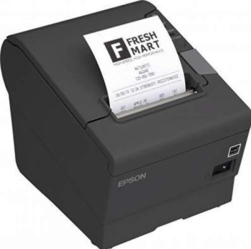 Epson TM T88V - Impresora de recibos (rollo de 8 cm, USB, certificado y reacondicionado)