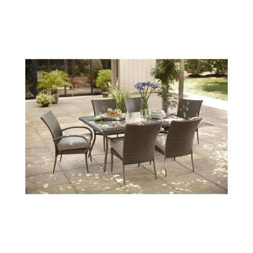 Hampton Bay Patio Set Amazon Com