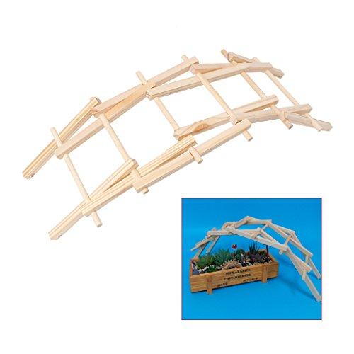 Da Vinci Bridge Pathfinders - Kit de construcción de madera para niños