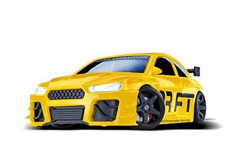 DR!FT Racer Yellow Beast Gymkhana Edition ferngesteuertes Drift Auto, Rc Car mit realistischer Fahrdynamik zur Steuerung mit iPhone oder Android, reales Fahrverhalten simuliert via App