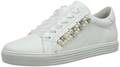 Kennel und Schmenger Schuhmanufaktur Damen Town Sneakers, Weiß (Bianco/Pearl Sohle Weiss), 38 EU(5 UK)