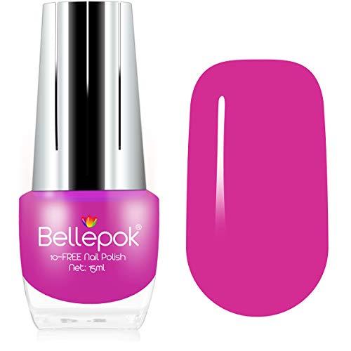 Esmalte de uñas natural, 10 unidades, fórmula ecológica, color rosa pantera
