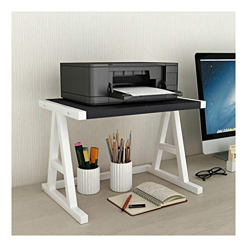 Desktop Stand for Printer Space Organizer Desktop Stand for Printer Desktop Shelf for Space Organizer(Hardware And Steel)Storage Shelf, Book Shelf, Double Tier Tray for Mini 3D Printer Desk Printer St