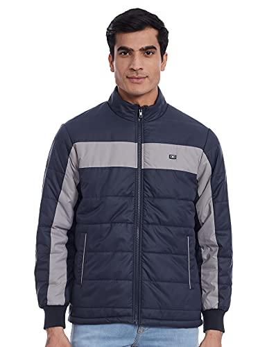 Monte Carlo Men's Regular Fit Warm Up Jacket (220050223-1_Blue_38)