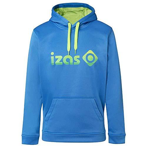 Izas Imjpu00757Ry/Lg4Xl - Hooded Pullover - Duero Color: Royal/Light Green - M