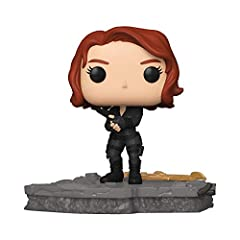 The Marvel Avengers Assemble series is a brand-new Initiative from Funko, exclusively available here. The Funko Pop! Deluxe Avengers Assemble series will feature 6 brand new unique figures, this is the 5th figure in the series, Black Widow! This seri...