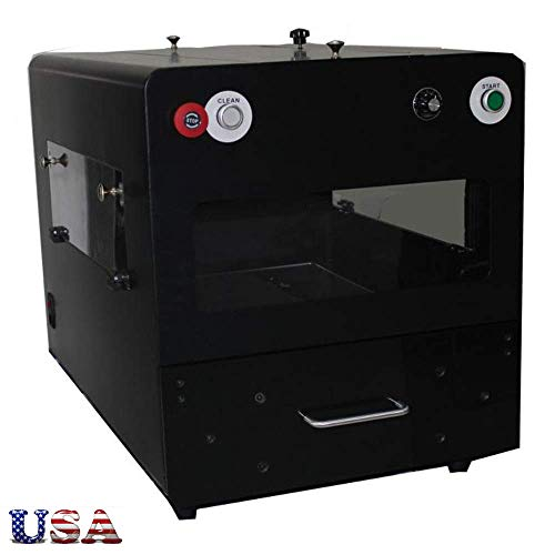 US Stock - 110V Spray Pretreatment Machine DTG Pretreat Machine for DTG Printers, 60HZ 150W