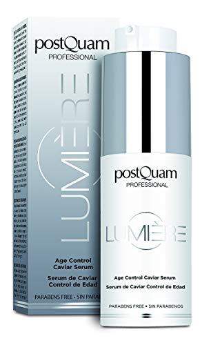 Postquam - Lumiere | Serum Facial Control de Edad, Redensificante y Reestructurante con Acido Hialuronico - 30 Ml