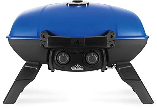 Napoleon TQ285-BL-1 TravelQ 285 Portable Gas Grill, Blue