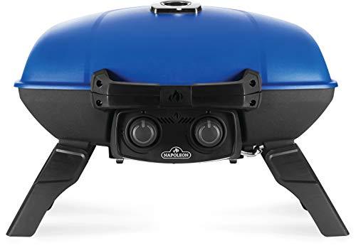 Napoleon TravelQ TQ285-BL-1 Portable Propane Gas Grill, Blue Gas Grills Natural