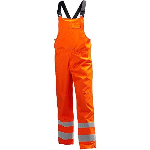 Helly Hansen 71570_260-L Alta Shelter Waterproof Hi-Vis Dungarees, Large, Orange