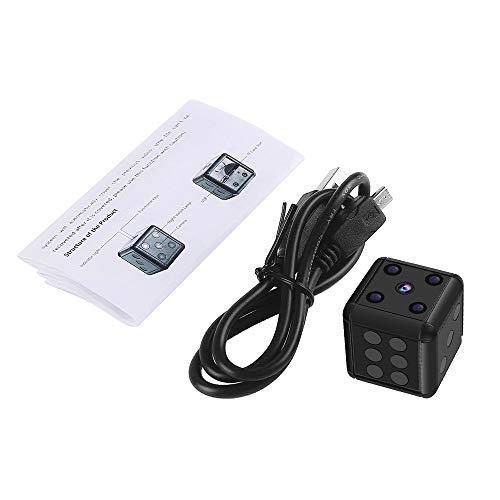 Crazepony Mini Hidden Spy Camera SQ16 1080P HD Nanny Cam Night Vision Portable Motion Detection FOV 90 Degree Sports Camera Mini DV Video Recorder