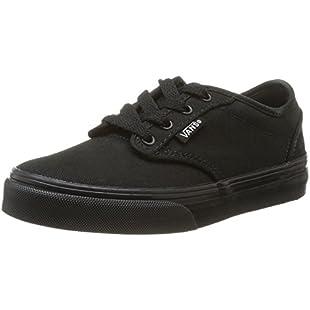 Vans Atwood, Unisex Low-Top Sneakers, Black, 4 UK (36.5 EU)