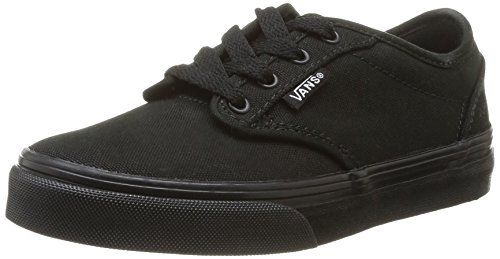 Vans Unisex-Kinder Atwood Low-Top, Schwarz, 36 EU