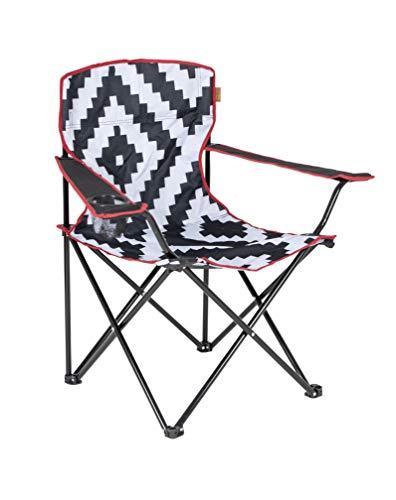 Bo-Camp Urban Outdoor-Klappstuhl-Madison, Nylon, Schwarz, Einheitsgröße