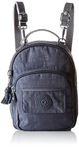 Kipling Women's Alber Backpack, 16 x 21.5 x 10.5 cm Grey Size: One size