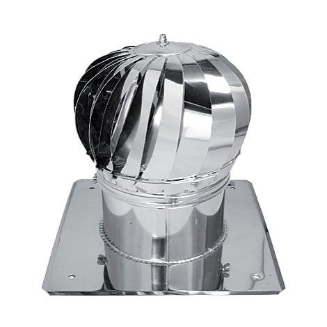 Kaminaufsatz Schornsteinaufsatz Lüftungsaufsatz Turbomax 200 für Ofen, Kamin und Lüftung