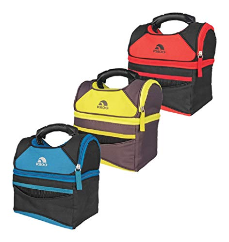 Igloo Playmate Gripper Lunch Bag Cooler 9 can capacity Assorted