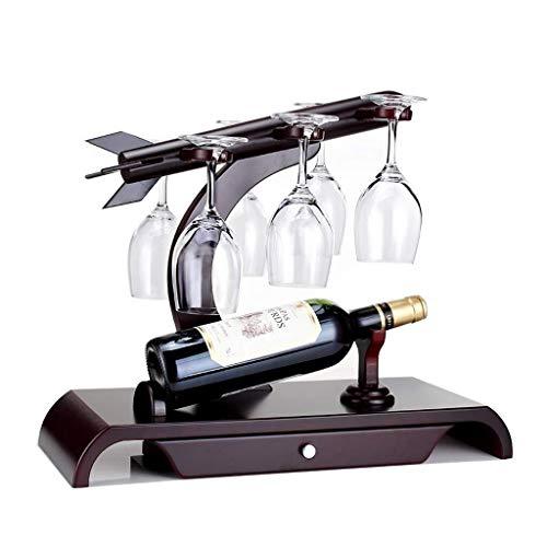 Estantería de vino Estante del vino del estante del cubilete la botella de vino en rack, independiente de escritorio estante de exhibición, Inicio Restaurante, gabinete del vino personalizado, estante