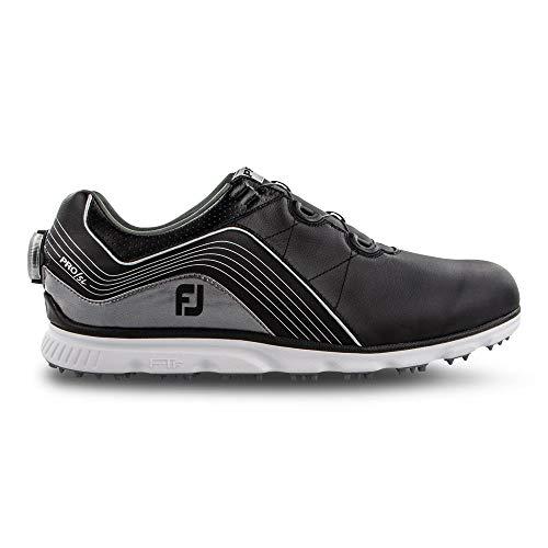 FootJoy Men's Pro/SL Boa Golf Shoes Black 9 M Grey, US