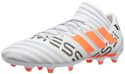 adidas Men's Nemeziz Messi 17.3 FG Soccer Shoe, White/Solar...