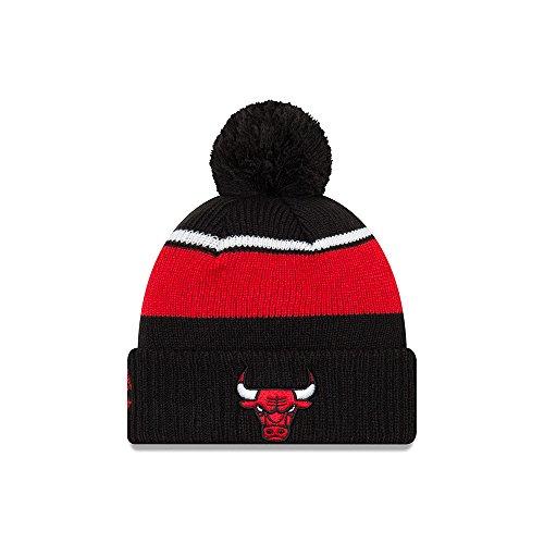 New Era Chicago Bulls Call Out Cuff Pom Knit Beanie Hat/Cap