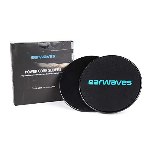 Earwaves ® Power Core Sliders - Discos deslizantes Fitness de Doble Cara...