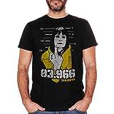 Camiseta Vis a Vis Zulema 03.966 – Serie TV Cult Española – Choose ur Color-Hombre negra 48