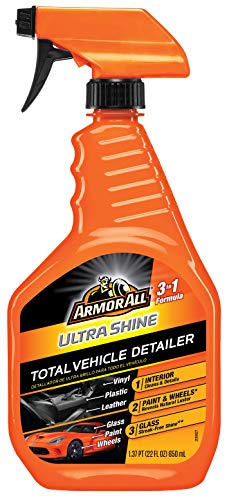 Armor All Car Total Cleaner Formula, Detailer for Cars, Truck, Motorcycle, Ultra Shine, 22 Fl Oz, 18931