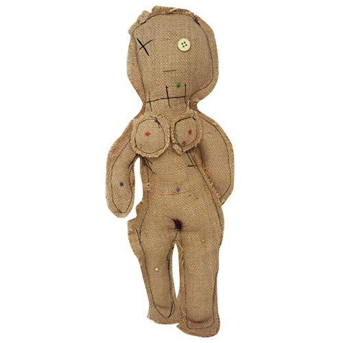 Mr. Gadgets Bambola Voodoo Donna, con Sei spilli e Guida all'utilizzo