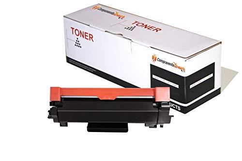 CVT-CompraVentaToner - Toner Compatible (con Chip) Brother TN2420 Alta Capacidad, para DCP L2510D, DCP L2530DW, HL L2310D, L2350DN, L2370DN, L2375DW, MFC L2710DN, L2730DW, L2750DW