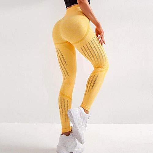 HPPL Naadloze Leggings Push Up Leggins Sport Dames Fitness Running Yogabroek Energie Naadloze Leggings Gym Girl Stretchy Hoge Taille, als foto, S
