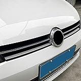 HHF-1 Luopan Accesorios de Coche Car-Styling Rejilla del Parachoques Delantero de Carbono Protección película de la Fibra de Coches Pegatinas y calcomanías for el Golf 7 MK7