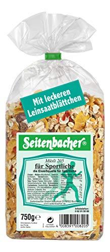 Seitenbacher Müsli Für Sportliche, 3er Pack (3x 750 g Packung)