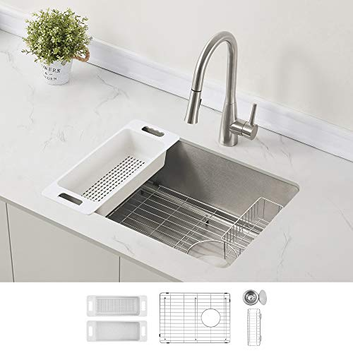 Zuhne Offset Drain Kitchen Sink