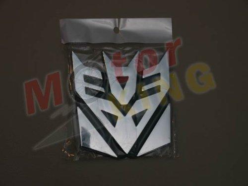 Transformers Decepticons Logo 3D Car Hood Ornament / Decal