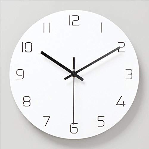 NIUMM Reloj De Pared Silencioso Reloj De Pared 3D Diseño...