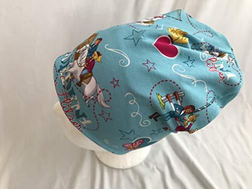 Mütze Bibi und Tina auf hellblau 46-50