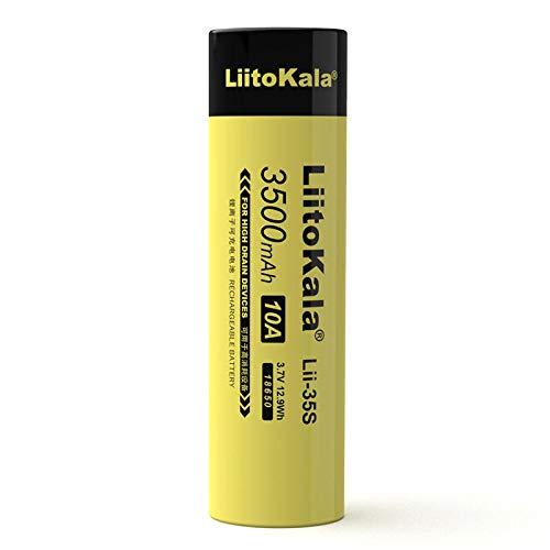 2PCS Lii-35S 18650 3,7 V 3500 mAh wiederaufladbare Lithiumbatterie für LED-Taschenlampe