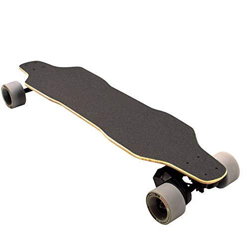 CuiCui Monopatín eléctrico Bluetooth Remote Skate Board Frenado Longboard Skate Board Impermeable...