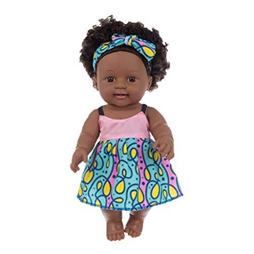 Walaka Poupée Noire Afro-américaine réaliste bébé...