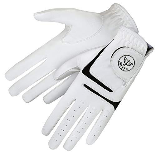 Jayefo Premium Golf Gloves (Large, Worn ON Left Hand)