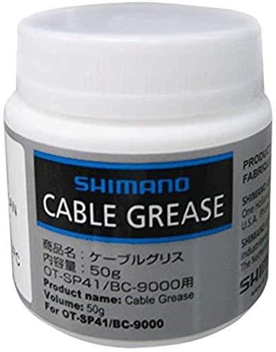 SHIMANO SIS-SP41/BC9000, Grasso Silicone, Bianco, 50 g