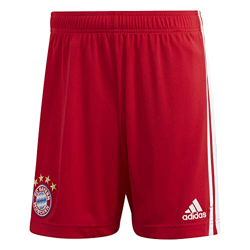 adidas Herren 20/21 FC Bayern Home Short, Fcbtru, L