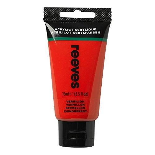 Reeves 8341220, Pintura acrílica, Rojo, 75 ml