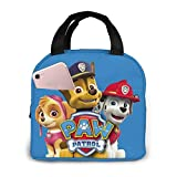 Portable Pa_W Pa_Trol Lunch Bag Insulated Cooler Tote Box For Travel/Picnic/Work/School