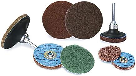 4 in Disc Dia Aluminum Oxide 14 Units Non-Woven Finishing Disc