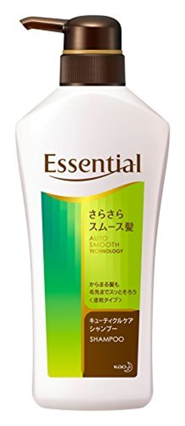 ペック情緒的前任者エッセンシャル シャンプー さらさらスムース髪 本体 480ml Japan