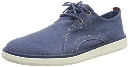 Timberland Herren Gateway Pier Casual Oxford Schuhe, Blau (Vintage Indigo 134), 50 EU